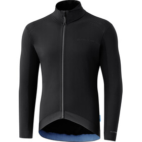 Shimano S-Phyre Wind-Resistant Maillot À Manches Longues Homme, black